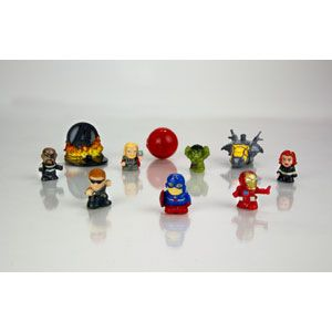 Squinkies Marvel The Avengers Movie Edition Bubble Pack
