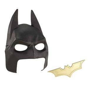 The Dark Knight Rises Cowl & Batarang