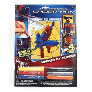 The Amazing Spider-Man Marker by Number