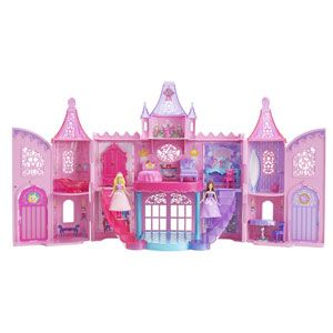 Barbie: The Princess and the Popstar Musical Light-Up Castle