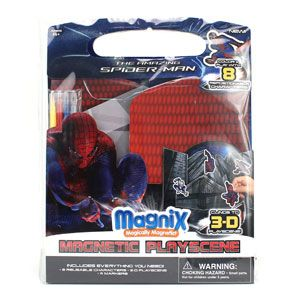 The Amazing Spider-Man Magnix Magnetic Play Scene