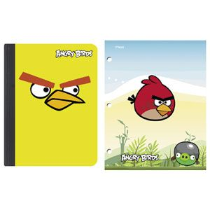 Angry Birds Folders & Composition Notebooks