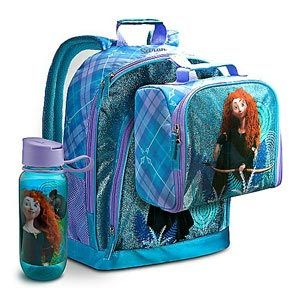 Disney Cars, Brave & Cinderella Lunch Totes, and Water Bottles