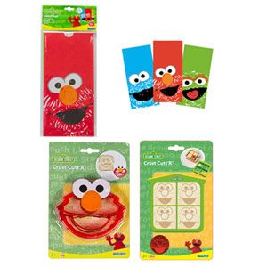 Sesame Street Lunch Items