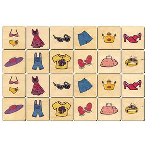 Dress Up Memory Tile Game