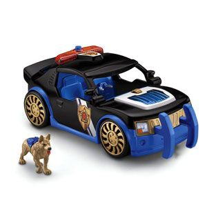 Rescue Heroes: Hero World Voice Comm Police Car