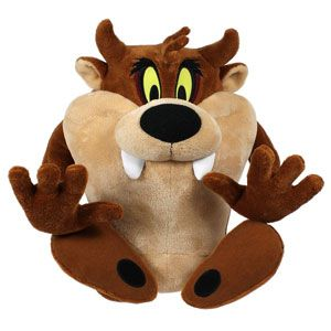 The Looney Tunes Show Poseable Taz with Sounds