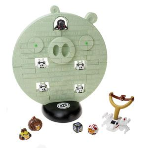 Angry Birds Star Wars Jenga Death Star Battle Game