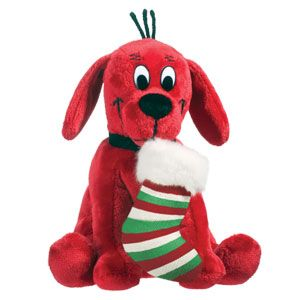 Clifford the Big Red Dog Holiday Stuffed Animals