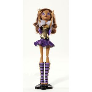 Monster High Ghouls Alive Clawdeen Wolf