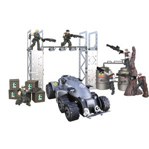 Erector Gears of War Locusts vs. Delta Squad Battle Construction Set