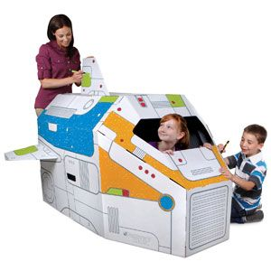 Discovery Kids Color and Play Rocket Ship