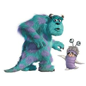 Monsters, Inc. Giant Peel & Stick Wall Decals