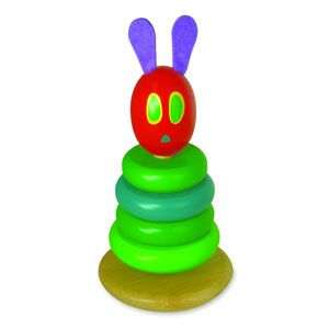 The Very Hungry Caterpillar Wooden Stacking Toy