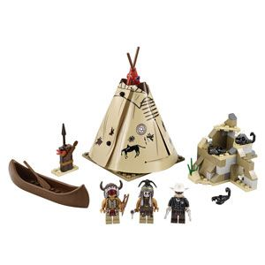 LEGO The Lone Ranger Comanche Camp