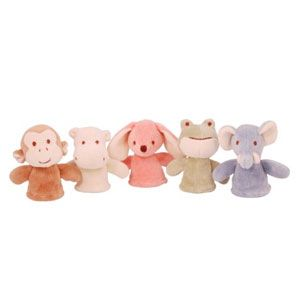 Miyim Simply Organic Finger Puppets