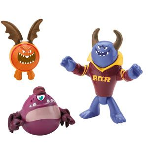 Imaginext Monsters University Johnny, Chet & Omar