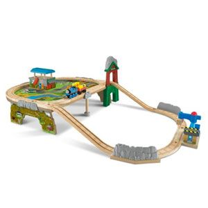 Thomas & Friends Wooden Railway Deluxe Mountaintop Supply Run