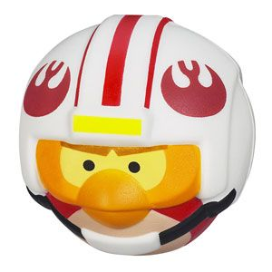 Angry Birds Star Wars Foam Flyers Luke Skywalker Bird
